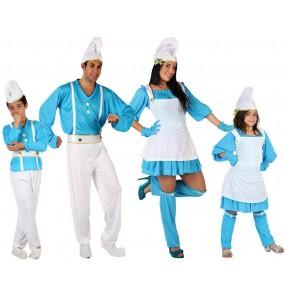 Grupo de Duendes azules