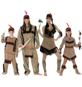Grupo Disfraces de Indios