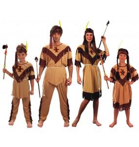 Grupo Disfraces Indios