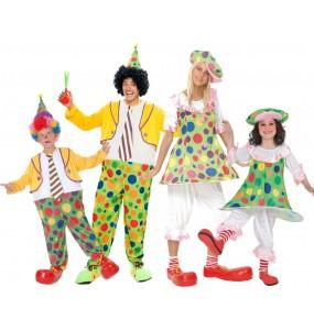 Grupo Disfraces Payasos