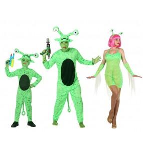 Grupo Disfraces de Extraterrestres