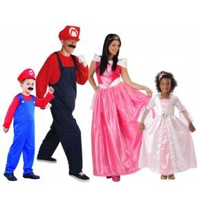 Grupo Disfraces de Peach Mario Bros