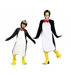 Grupo de Disfraces de Pingüinos