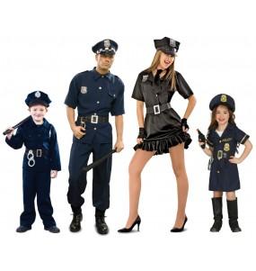 Grupo Disfraces de Policías