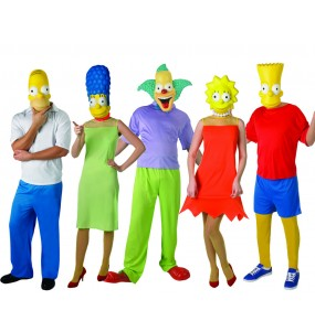 Grupo Disfraces The Simpsons