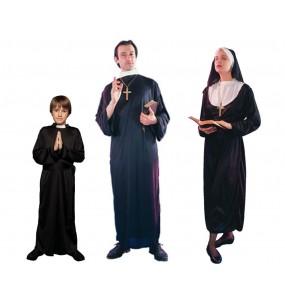 Grupo Disfraces de Religiosos