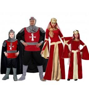 Grupo Disfraces Medievales Rojos