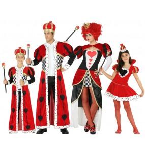 Grupo Disfraces de Reyes de Corazones