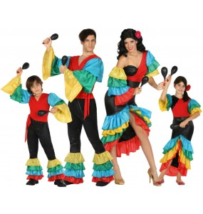 Grupo Disfraces de Rumberos Tropicales