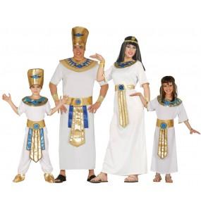 Grupo disfraces Familia Faraones