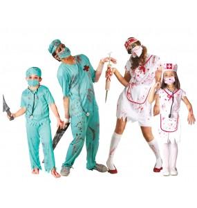 Grupo Cirujanos y Enfermeras Zombies