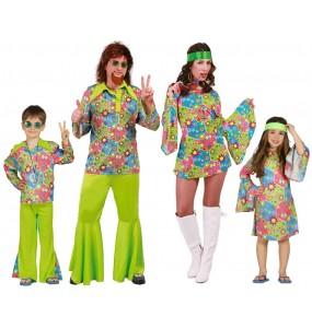 Grupo de Hippies Flower Power