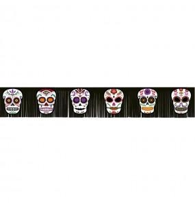 Guirnalda de Catrina Día de los Muertos de 182 cm