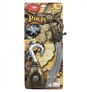 Kit Accesorios Capitán Pirata
