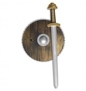 Kit accesorios disfraz vikingo niño