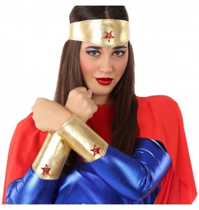 Kit Accesorios disfraz Wonder Woman