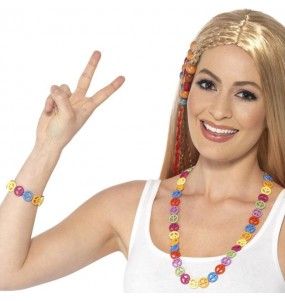 Kit accesorios Hippie Peace