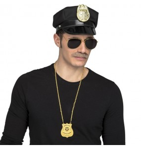 Kit Disfraz Agente Policía