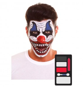 Kit Maquillaje de Payaso Halloween