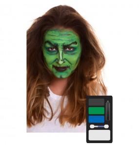 Paleta Maquillaje de Bruja Halloween
