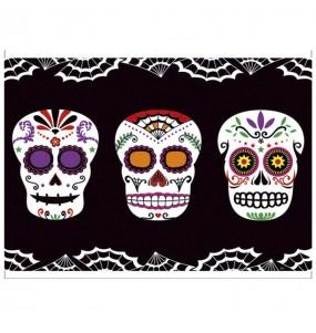 Mantel de Catrina día de los Muertos 137 x 182 cm