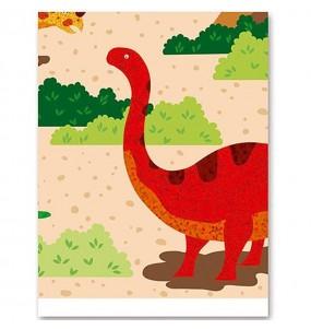 Mantel de Dinosaurios 137 x 182 cm