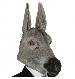 Máscara Burro de Látex