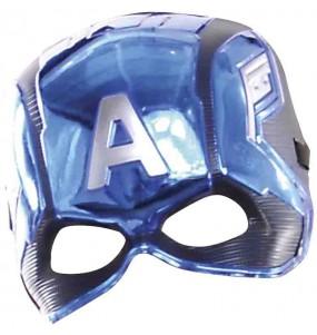 Máscara Capitán América Los Vengadores para niños