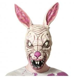 Máscara Conejo zombie