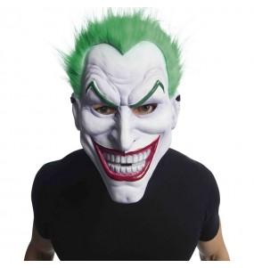 Máscara de Joker PVC con pelo