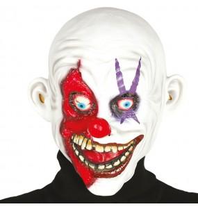 Máscara Payaso Loco de Látex