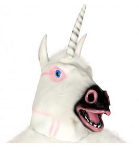 Máscara de Unicornio Látex