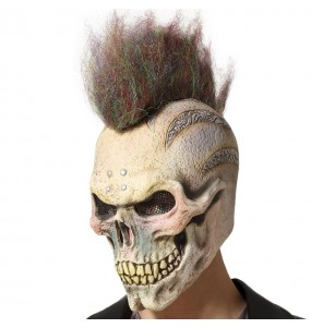 Máscara Esqueleto punk