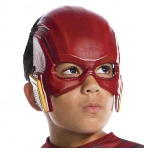 Máscara Flash Liga de la Justicia para niños