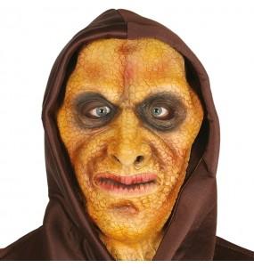 Máscara Hombre Lagarto con capucha