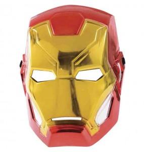 Máscara Iron Man Los Vengadores para niños