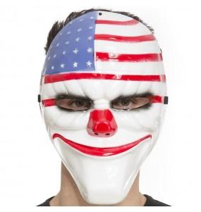 Máscara La Purga Bandera Estados Unidos