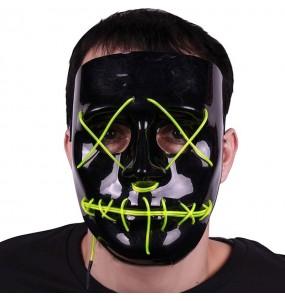 Máscara La Purga con luces