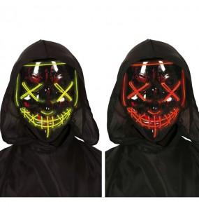 Máscara La Purga con luz