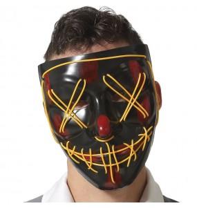 Máscara La Purga Maniático con luz