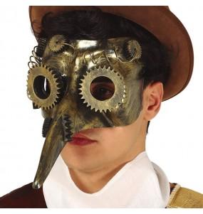 Máscara Steampunk la Peste
