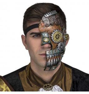 Máscara Steampunk Retro
