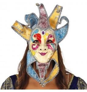 Máscara Veneciana con Cascabeles