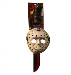 Máscara y Machete Jason Viernes 13