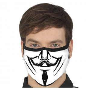 Mascarilla de Anonymous para adulto