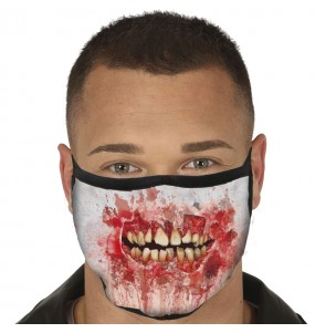 Mascarilla de Boca Zombie para adulto