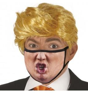 Mascarilla de Donald Trump para adulto