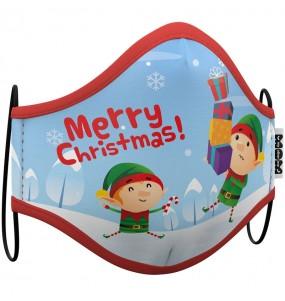 Mascarilla de Elfo Navidad para adulto