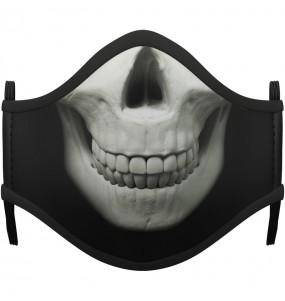Mascarilla de Esqueleto Zombie para adulto