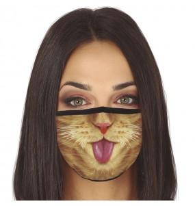 Mascarilla de Gato para adulto